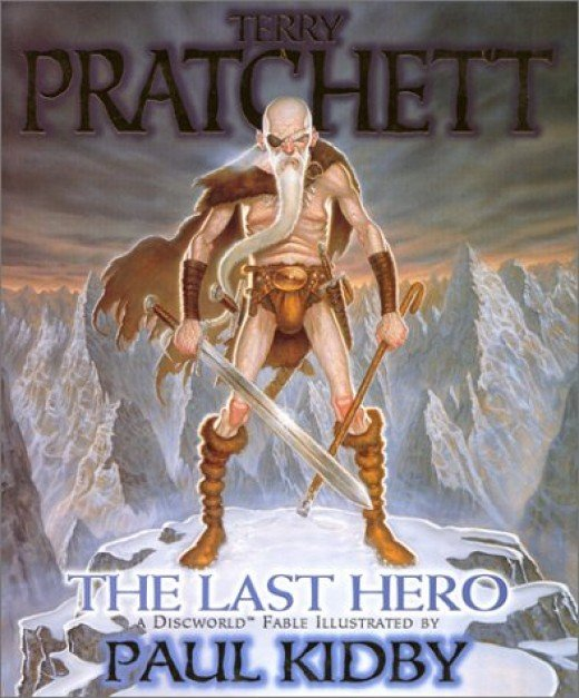 The Last Hero is a graphical novel illustrated by the talented Paul Kirby.