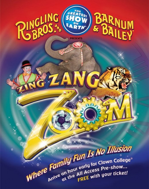 Ringling Bros and Barnum & Bailey Present Zing, Zang, Zoom