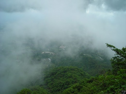 Beautiful view of mussorie