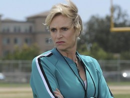 "SUPPORTING ACTRESS (Television): Jane Lynch, ""Glee"""