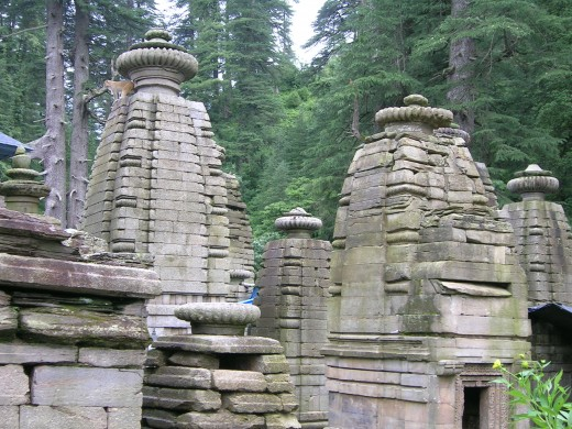 One of the ancient temples of india Jageshwar temple