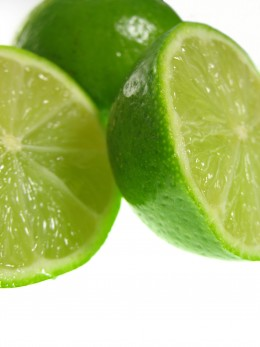 Limes can be added to your water to make it more palatable.