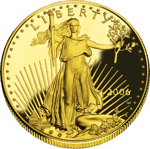 Numismatic dream coin, the American Liberty Gold Double Eagle