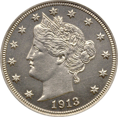 The 1913 Liberty Head Nickel, Not gold, but might as well be!