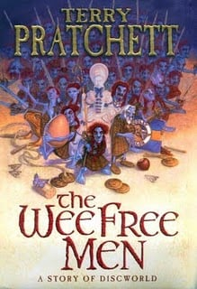 The Wee Free Men is a great Discworld book which brings back the Nac Mac Feegles
