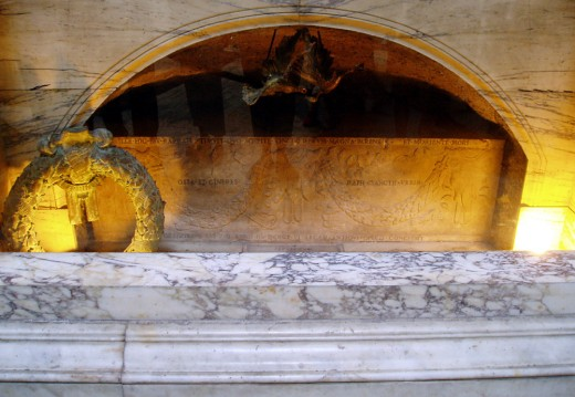 TOMB OUTSIDE ROME OF PAUL THE APOSTLE