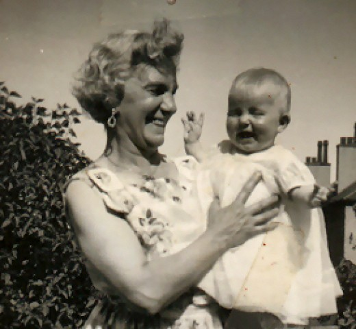 Me with my grandmother