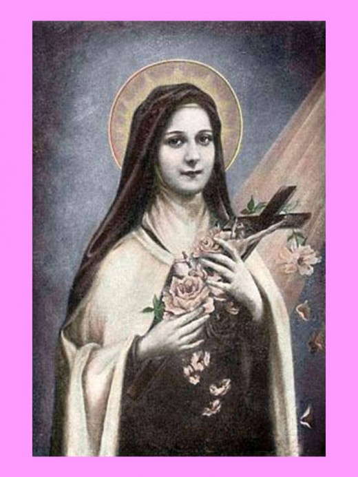 St. Therese of the Child Jesus, Pray for us.