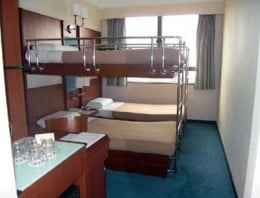 Double Bunk Bed Room