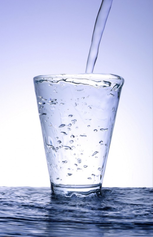 Drink water! It is wonderful for your skin!
