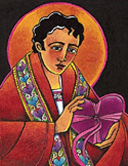 Artist's version of St. Valentine
