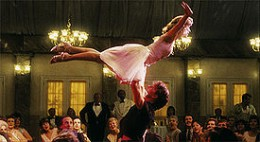 Jennifer Grey and Patrick Swayze in Dirty Dancing - wikimedia.commons