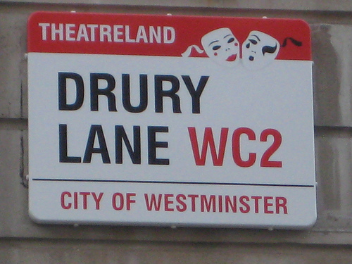 Drury Lane is near the epicentre for London Theatre Breaks with several theatres and hotels in easy walking distance