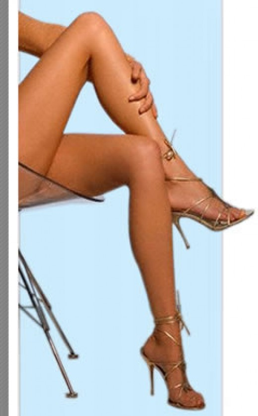 Read in my next hub: How to improve the overall appearance of legs by getting rid of varicose veins.