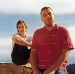 Henry Binns and Sam hardaker, founders of Zero 7