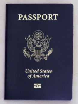 U.S. Passport with Biometrics Logo