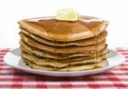 No allergens but full of nutritious ingredients, buckwheat pancakes.