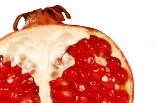 Gratuitous image of Pomegranate innards. Photo courtesy http://www.freedigitalphotos.net