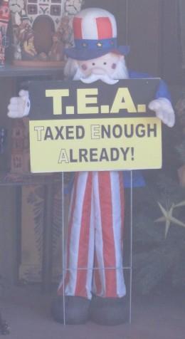 """TEA Party Movement - """"Taxed Enough Already"""""""