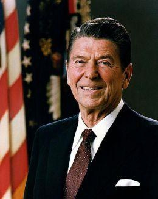 President Ronald Reagan (Public domain photo courtesy of WikiPedia.org  http://en.wikipedia.org/wiki/File:Official_Portrait_of_President_Reagan_1981.jpg )