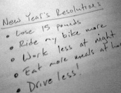 Resolutions:  Say Goodbye to the Old You
