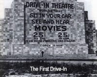 First Drive-In Movie Theatre