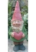 Happy Gnome with Heart