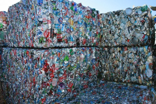 Results of environmentally conscious recycling efforts