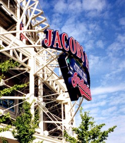 Jacobs Field, Home of the Cleveland Indians