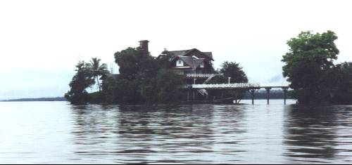 Essequibo Resort in Guyana.  Courtesy guyana.org