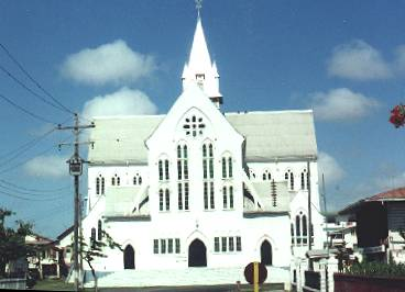 Travel Guyana.  St. George's Cathedral. Courtesy guyana.org