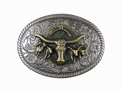 You will be the life of the campfire with a western belt buckle like this one!