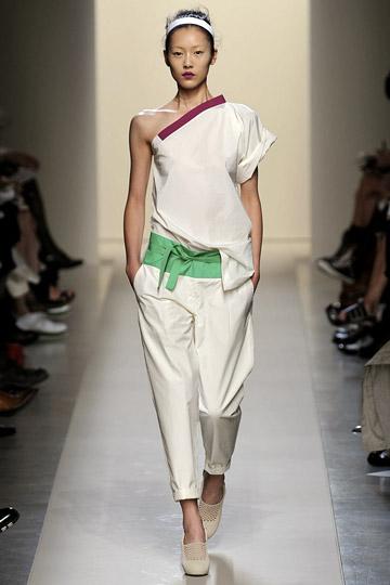 Chinese Model Liu Wen - Shoulder Detail