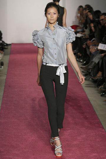 Chinese Model Liu Wen - Ruffles