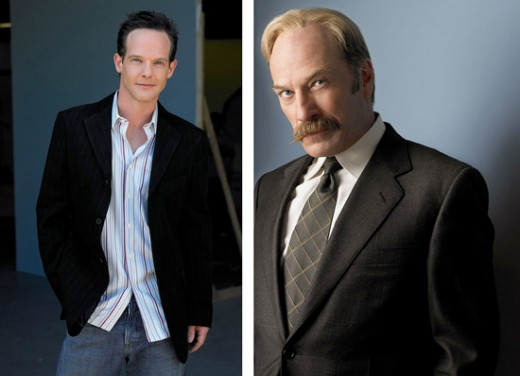 Jason Gray-Stanford is Randy Disher | Ted Levine is Capt. Leland Stottlemeyer