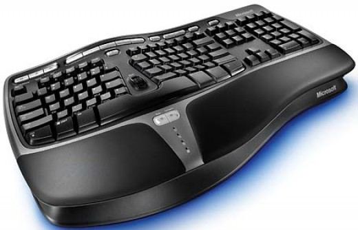 Microsoft Natural Ergo Keyboard 4000 - Best