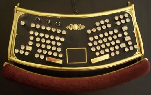The Steampunk Ergo Keyboard