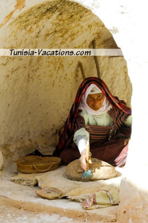 Visit a Berber home