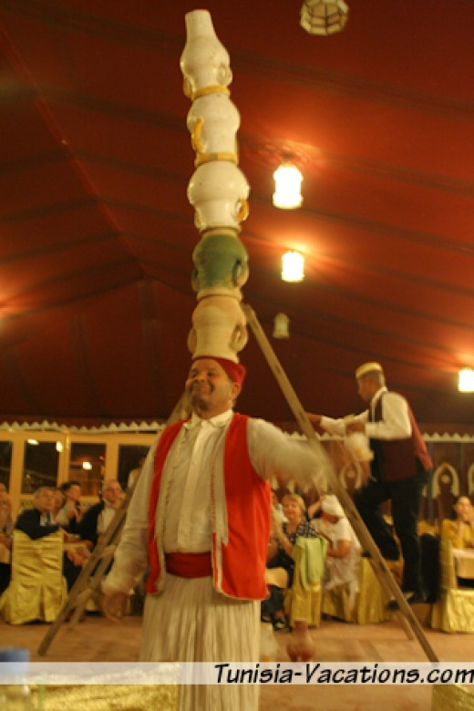 Attend a Tunisia dinner show