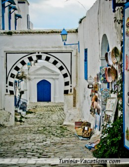 Wander the streets of Sidi Bou Said