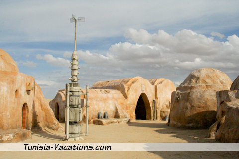 No visit is complete without visiting the set of Star Wars