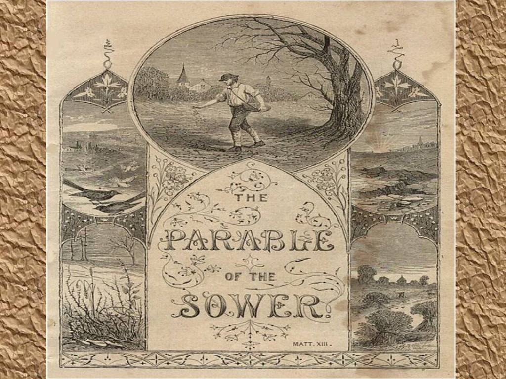 what kind of dirt are you the parable of the sower in bible