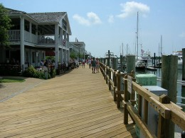 Boardwalk in Beaufort