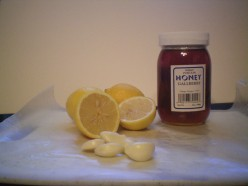GARLIC LEMON HONEY