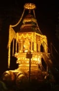 The Golden Rath or chariot at Udupi temple