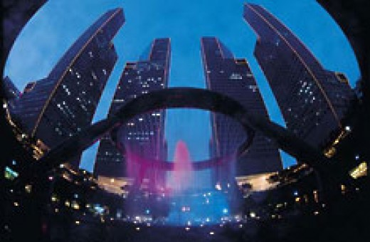 Suntec City, worlds largest fountain and shopping mall