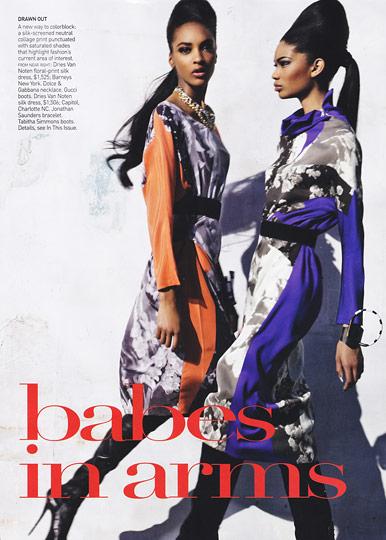 Vogue 2009 spread