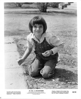 Scout Finch, played by Mary Badham, To Kill A Mockingbird, 1962