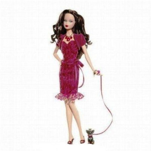 Birthstone Beauties Barbie Dolls are available for all birth months from January to December.