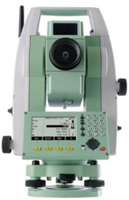 The Leica Flexline TS09 Total Station
